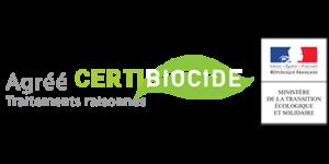 Agréé Certibiocide